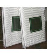 2 Ralph Lauren 52ND Street Jacquard Cream Jacquard European Pillow Shams... - $49.49