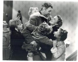 It's A Wonderful Life QP2 Stewart Reed Christmas 11X14 Movie Memorabilia Photo - $13.95
