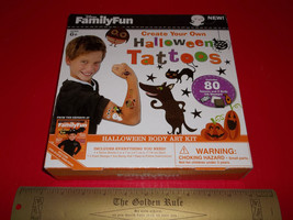 Disney Holiday Craft Kit Body Art Ink Stamp Set Create Your Own Hallowee... - $12.34