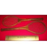 Sport Treasure Tennis Racquet Racket Sporting Good Pair Old Wood Equipme... - $379.99