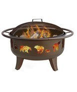 Fire Pit Bowl Outdoor Patio Backyard Fireplace ... - $246.50