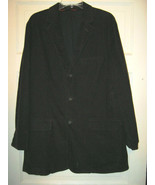 J Crew dark brown corduroy blazer jacket coat  L T  NWOT 3 button - $38.21
