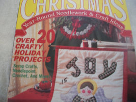 Christmas Year-Round Needlework & Craft Ideas 1991 Magazine - $6.00