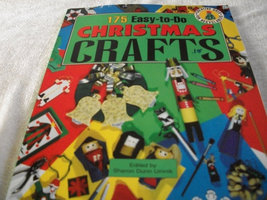 175 Easy-To-Do Christmas Crafts Book - $8.00
