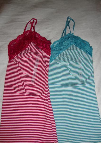 2pc lot NWT old navy tank tops size Small