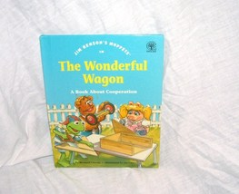 Jim Henson's Muppets THE WONDERFUL WAGON Book 1993 H/C - $5.96