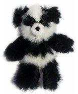 Baby Alpaca Fur Panda Teddy Bear - Hand Made 10 Inch - $74.24