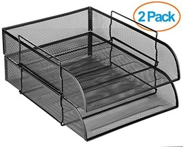 "Halter Steel Mesh Horizontal File Paper Tray Desk Organizer - 13.25"" X 1... - €26,09 EUR"