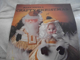 Make Yours A Crafty Christmas Craft Book - $12.00