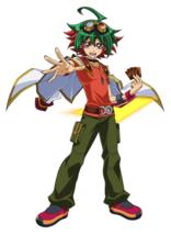 Yugioh Orica Anime Cosplay YUYA SAKAKI Deck yugi muto yu gi oh ODD EYES ... - $44.47