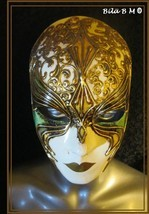 Amazing VENETIAN MASK from the Masters in ITALY - Handcrafted Masterpiece - $125.00