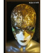 Amazing VENETIAN MASK from the Masters in ITALY - Handcrafted Masterpiece - $145.00