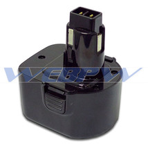 Power Tool Battery For DEWALT 12V NiCd 152250-27 397745-01 DC9071  DE903... - $25.63