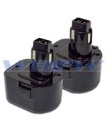TWO Power Tool Batteries For DEWALT 12V 152250-27 397745-01 NiCD Battery... - $47.41