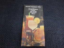 1979 BENSON & HEDGES  DRINK RECIPES from 100 Greatest Bars BARTENDER GUI... - $19.79