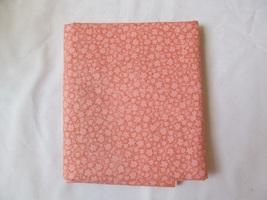 Orange Cream Small Scale Floral Quilting Fabric JoAnn Fabrics 1.5 Yards - $14.90