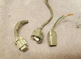 1999-2001 Infiniti Q45 OEM Xenon HID Headlight Headlamp Pigtail Wiring & Plugs - $14.55