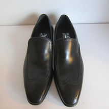 Loafers Ferragamo Leather Salvatore 5D C Shoes Size New Black 1490201 7 Lester tTqxOnSwO0