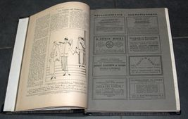 Illustrated Monthly for the Jewish Home MENORAH 1923-1924 18 Issue Hard Binding  image 5