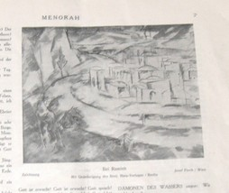 Illustrated Monthly for the Jewish Home MENORAH 1923-1924 18 Issue Hard Binding  image 7