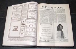 Illustrated Monthly for the Jewish Home MENORAH 1925 12 Issues Hard Binding  image 6