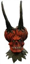 DEMON Pumpkin SEED LATEX Halloween Horror Mask - $79.19