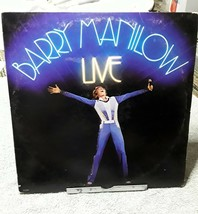 BARRY MANILOW LIVE 1977 Record Arista AL 8500 2 Record Set Gatefold - $4.99