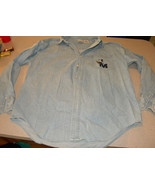 Woman's Denim The Disney Store Long Sleeve Mickey Mouse Shirt Button Dow... - $25.99