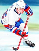 Michael Dean Bossy Classic Painting Art Hockey ... - $9.95