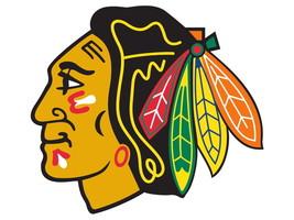 Chicago Blackhawks Logo Hockey Sport Art 24x18 ... - $9.95