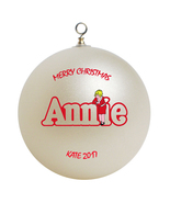 Personalized Little Orphan Annie Christmas Ornament Gift - $16.95