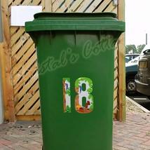 1 Numero Impermeabile Sticker Scoiattolo Colore Casa Nessun. Porta Del G... - $1.51+