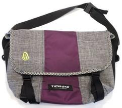 TIMBUK2 Classic Canvas Nylon Messenger Shoulder Bag Purse Carryall Gray ... - $26.77 CAD