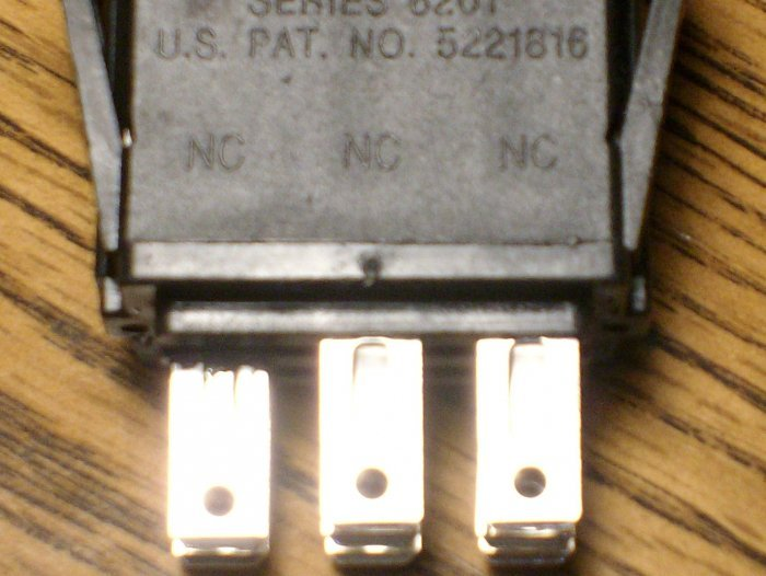 Wright Mfg Stander lawn mowere PTO switch 52420003