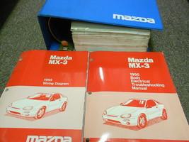 1995 Mazda MX-3 MX3 Service Repair Shop Manual Set Oem Factory Books 95 - $36.34