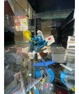 Smurfs Original Postman Smurf 20031 Valentine Letter SCHLEICH Vintage Sm... - $11.83