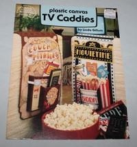 TV Caddies American School of Needlework Plastic Canvas Pattern Booklet ... - $8.42