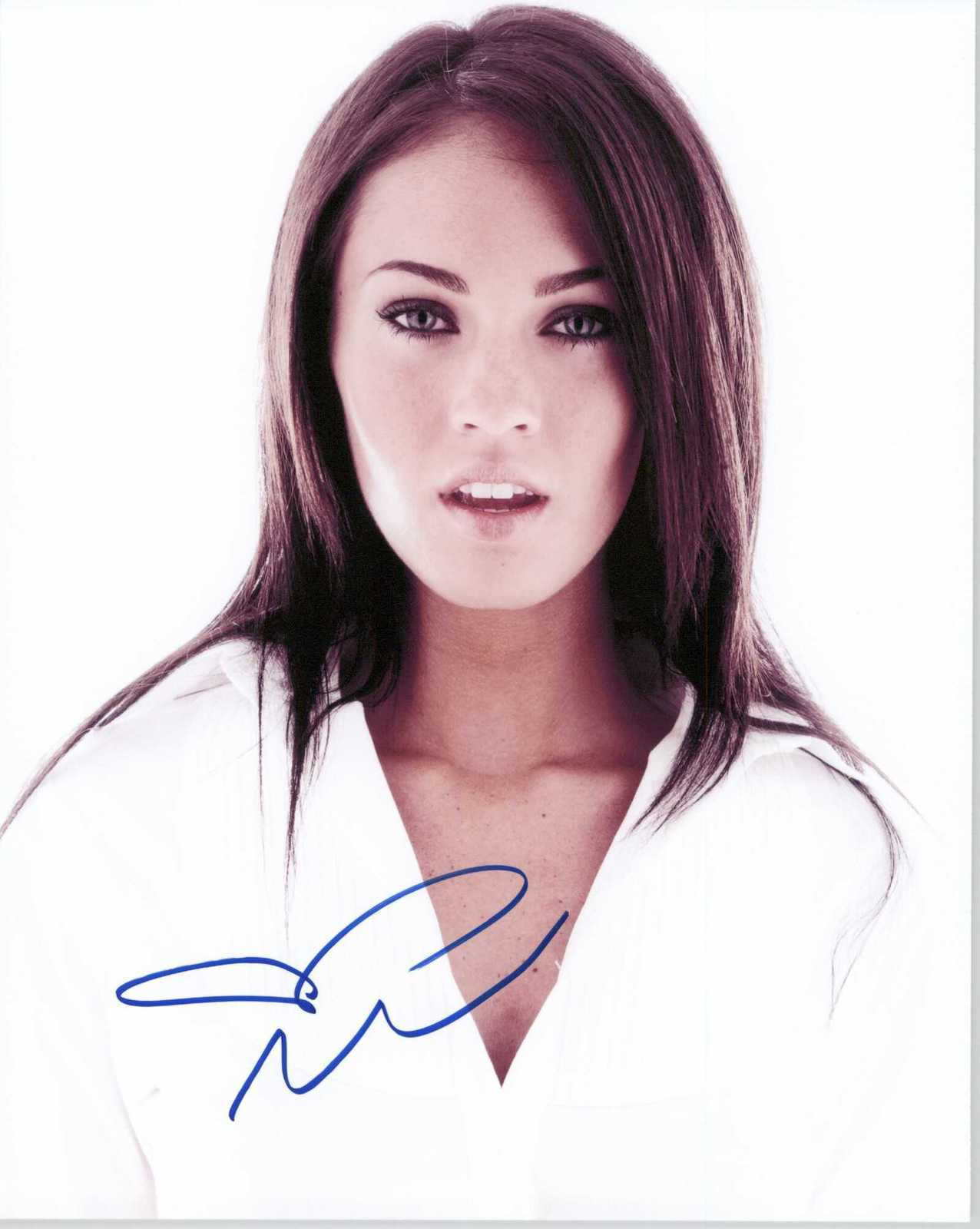 Primary image for Megan Fox Signed Autographed Glossy 8x10 Photo