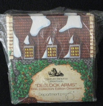 DEPARTMENT 56 Dedlock Arm's 1994 Collector's Ornament Charles Dickens  - $9.99