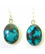 Green Blue Turquoise with Dark Brown Matrix Ste... - $95.23