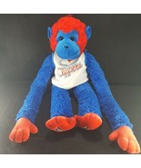 Los Angeles Clippers Rally Monkey Plush Vintage NBA Basketball Blue Red ... - $22.76