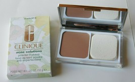 Clinique Acne Solutions Powder Makeup in 14 Vanilla (MF-G) .35 Oz New  - $14.99