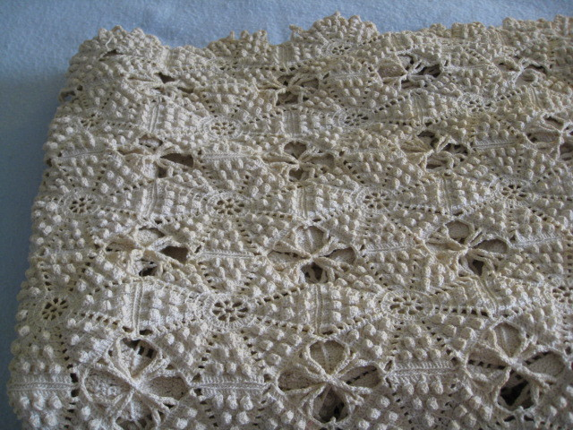 Antique Popcorn Stitch Bedspread And 49 Similar Items