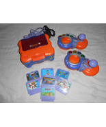VTech V SMILE TV Learning System Lot With 7 Games SCOOBY DOO Toy Story S... - $80.00