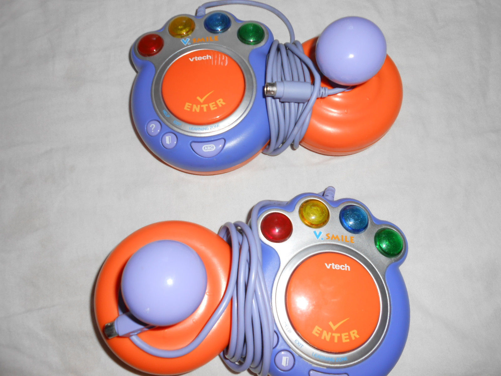 Smile Educational Toys : Vtech v smile tv learning system lot with games scooby