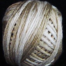 Wheat Husk (0154) Silk Floss 100% silk 23yd ball cross stitch Valdani  - $5.50