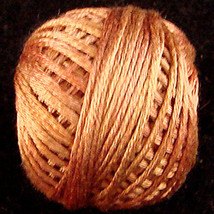 Washed Cinnamon (S506) Silk Floss 100% silk 23yd ball cross stitch Valdani  - $5.50