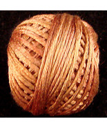 Washed Cinnamon (S506) Silk Floss 100% silk 23yd ball cross stitch Valdani  - $5.50
