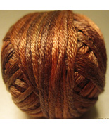 Silky Rust (P006) Silk Floss 100% silk 23yd ball cross stitch Valdani  - $5.50