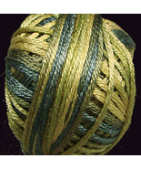 Olives (M19) Silk Floss 100% silk 23yd ball cro... - $5.50